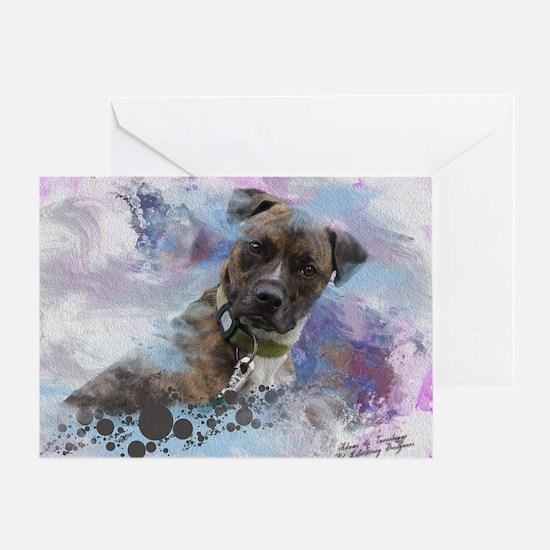Hawkeye-Fine Art Greeting Card