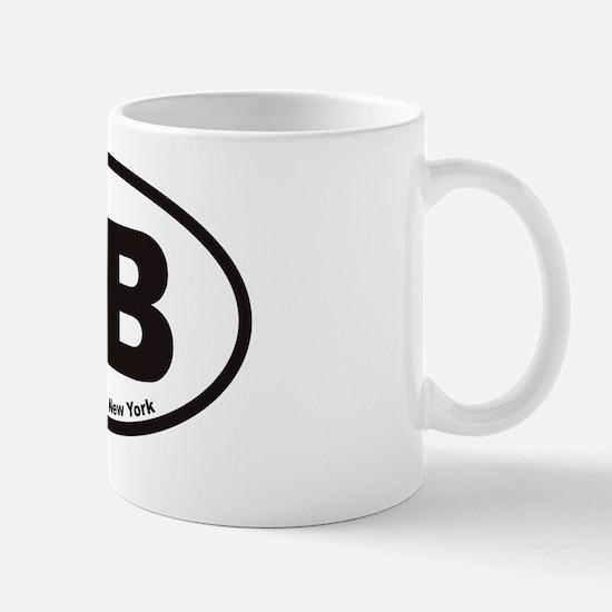 Hampton Bays HB Euro Oval Sticker Mug