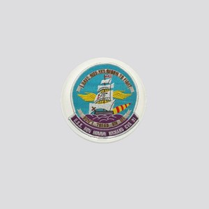 uss bon homme richard cva patch transp Mini Button