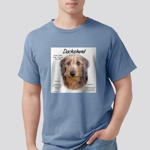 Wirehaired Dachshund Mens Comfort Colors Shirt