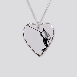 Leonidas the Great King Necklace Heart Charm