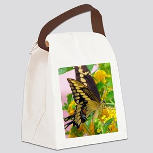 note-card---swallowtail-butterfly Canvas Lunch Bag