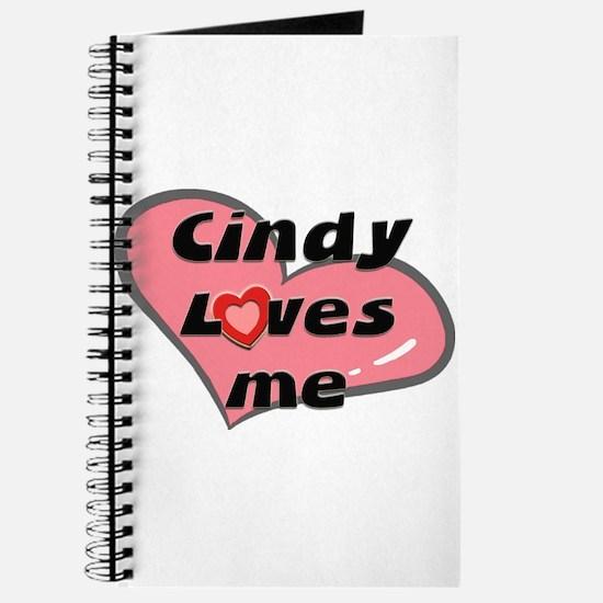 cindy loves me Journal