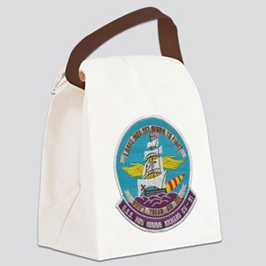 uss bon homme richard cv patch tr Canvas Lunch Bag