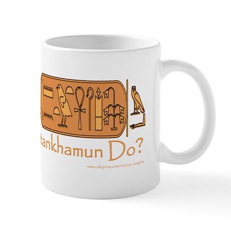 What Would Tutankhamun Do? Mug/white