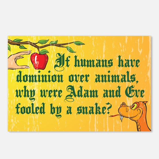 If Humans Have Dominion Postcards (Package of 8)