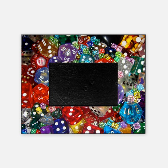 Lets Roll - Colourful Dice Picture Frame