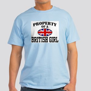 Property of a British Girl Light T-Shirt
