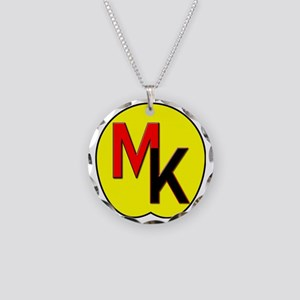 Moose Knuckle Necklace Circle Charm