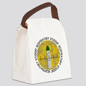 respiratory student 2012 YELLOW O Canvas Lunch Bag