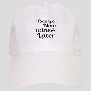 Banjo Now Wine Later Cap