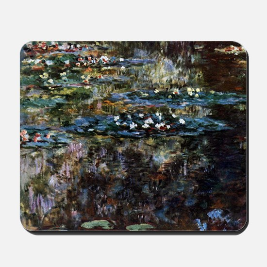 Water garden at Giverny Mousepad