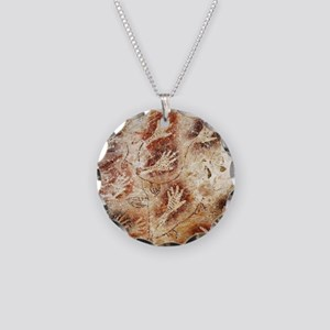 Gua Tewet The Tree Of Life Necklace Circle Charm
