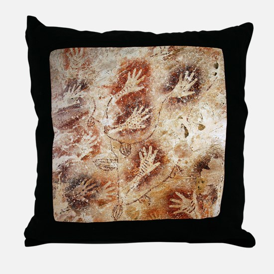 Gua Tewet The Tree Of Life Throw Pillow