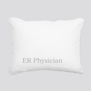 Eat sleep ER Doc Rectangular Canvas Pillow