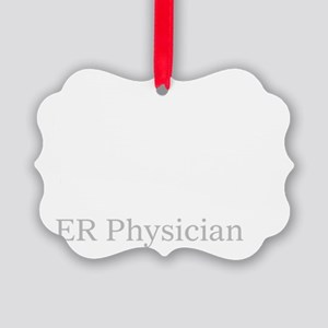 Eat sleep ER Doc Picture Ornament