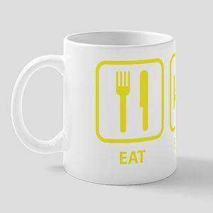 EatSleepCurl1D Mug