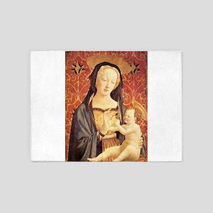 Madonna and Child - Veneziano 5'x7'Area Rug