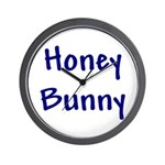 Honey Bunny Wall Clock