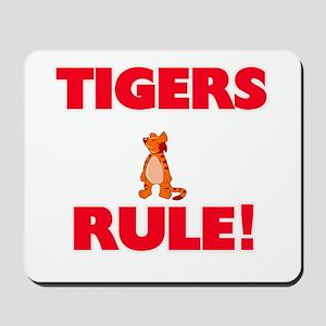 Tigers Rule! Mousepad