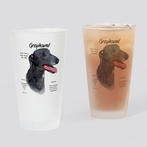 Greyhound Drinking Glass
