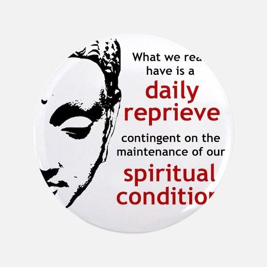"""Spiritual Condition 3.5"""" Button"""
