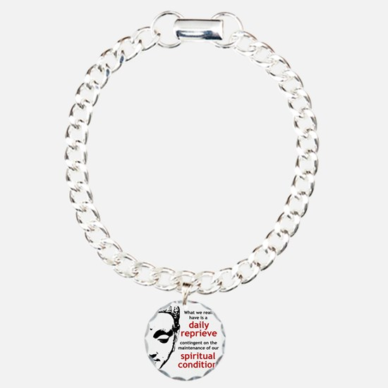 Spiritual Condition Charm Bracelet, One Charm