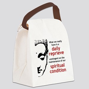 Spiritual Condition Canvas Lunch Bag