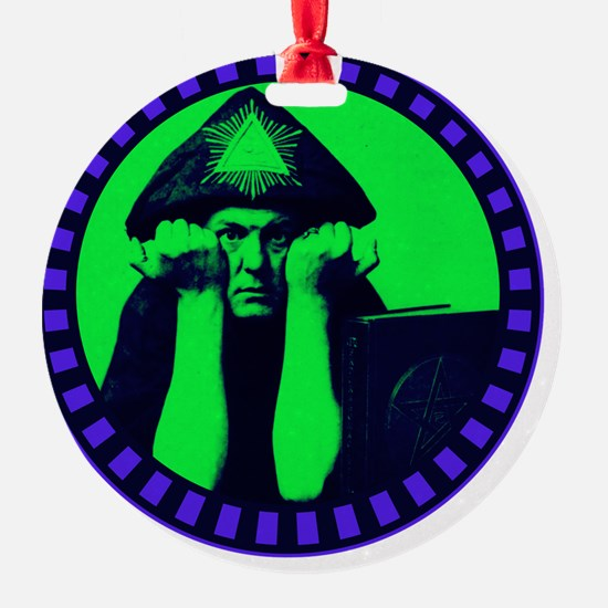 Aleister Crowley Ornament