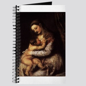Madonna and child - Titian - c 1565 Journal