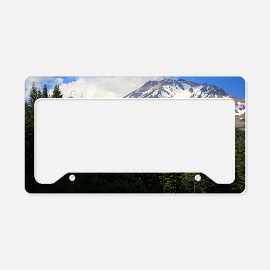 Mount Shasta 16 License Plate Holder