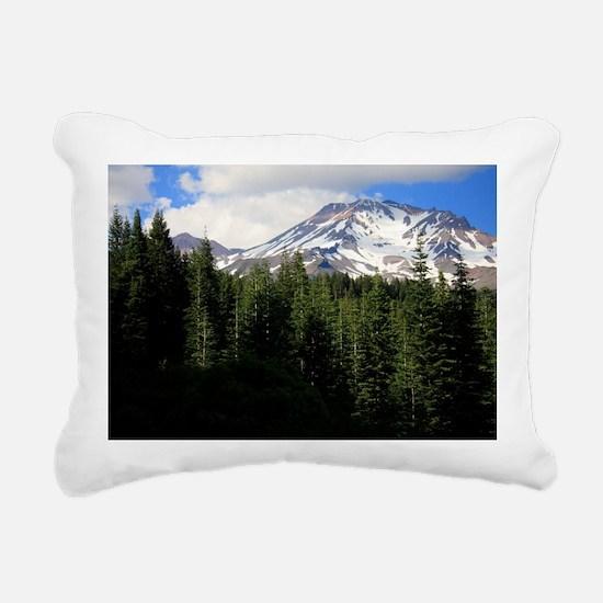 Mount Shasta 16 Rectangular Canvas Pillow