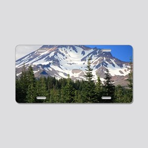 Mount Shasta 11 Aluminum License Plate