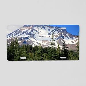 Mount Shasta 11 Aluminum License Plate