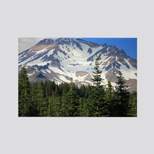 Mount Shasta 11 Rectangle Magnet