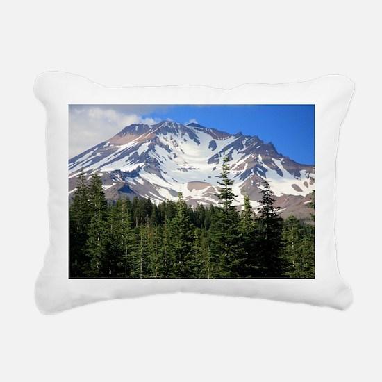 Mount Shasta 11 Rectangular Canvas Pillow