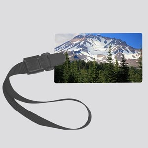 Mount Shasta 11 Large Luggage Tag