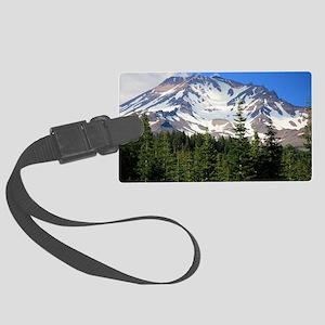 Mount Shasta 11 Large Luggage Tag