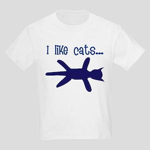 i like cats Kids T-Shirt