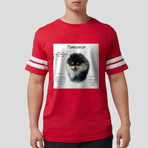 Pomeranian Mens Football Shirt