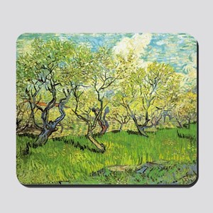 Orchard in Blossom Mousepad