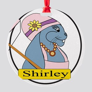 Shirley Round Ornament
