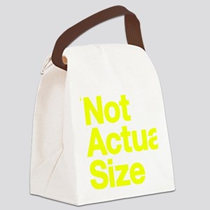 *Not Actual Size Canvas Lunch Bag
