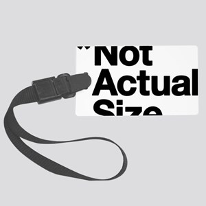*Not Actual Size Large Luggage Tag