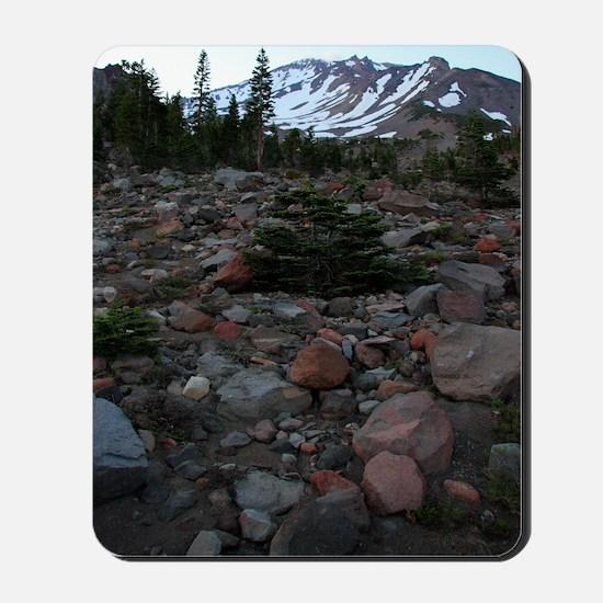 Mount Shasta 62 Mousepad