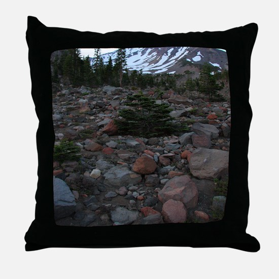 Mount Shasta 62 Throw Pillow