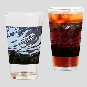Mount Shasta 63 Drinking Glass