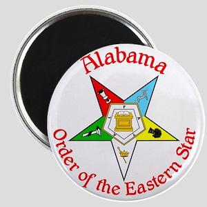 Alabama Eastern Star Magnet
