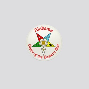 Alabama Eastern Star Mini Button