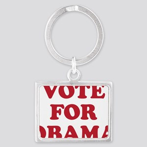 Vote For Obama Landscape Keychain